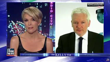 Megyn Kelly interviews Julian Assange