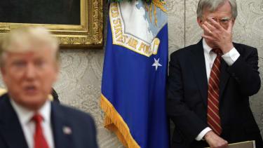Trump and John Bolton