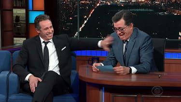 Chris Cuomo talks politics with Stephen Colbert