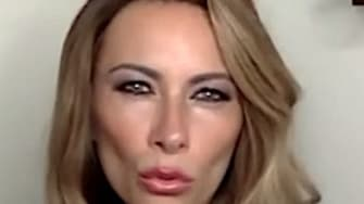 Laura Benanti plays Melania Trump on The Late Show