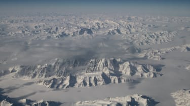 The premature melting of Greenland's ice sheet is concerning.
