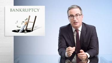 John Oliver explains personal bankruptcy