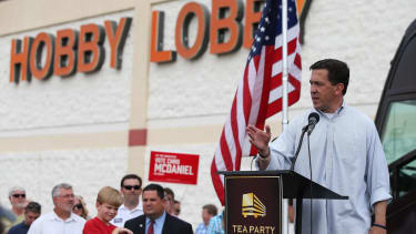 The Tea Party suffered a night of near-misses in Tuesday's primaries