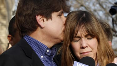 Rod Blagojevich and Patricia Blagojevich.