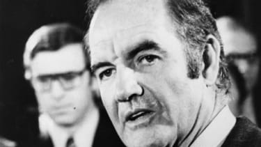 1972 presidential candidate George McGovern
