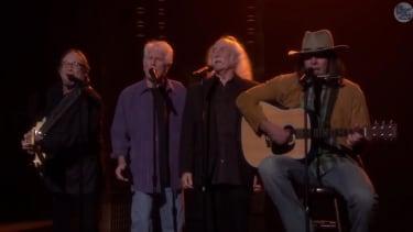 Crosby, Stills, Nash, and Jimmy Fallon's 'Young' cover Iggy Azalea's 'Fancy'