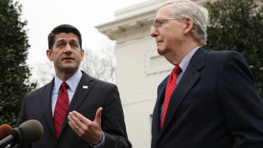 Paul Ryan and Mitch McConnell.