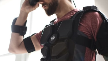 The Hardlight VR Suit.
