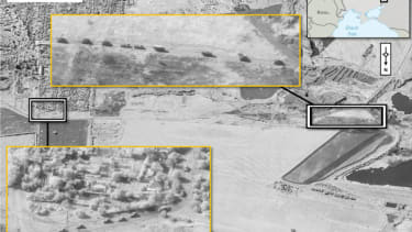 NATO: These satellite images show Russian troops entering Ukraine