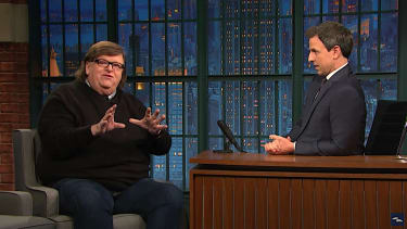 Michael Moore questions if Donald Trump will be president, still