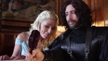 This Game of Thrones-themed wedding was ridiculously authentic (except no one got murdered)