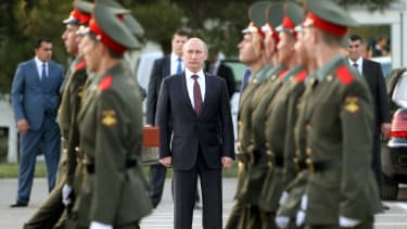 Vladimir Putin's push for power.