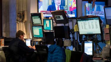 President Trump Stock market.
