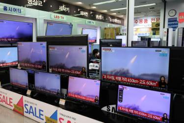 North Korea test-fires ballistic missiles