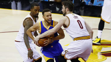 Golden State Warriors and Cleveland Cavaliers.