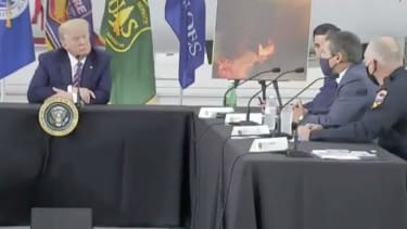 President Trump and California officials discuss wildfires and climate change.