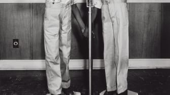 Twins at WDIA, Memphis, about 1948