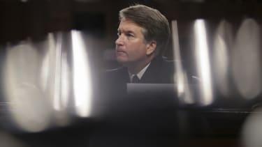 Brett Kavanaugh during his Supreme Court hearings