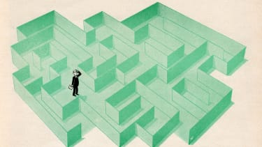 These complex rules and regulations trap people in a maze with no way out.