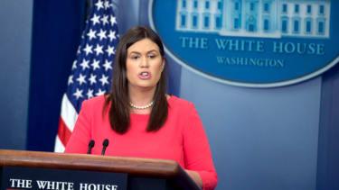 Sarah Huckabee Sanders.