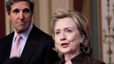 Kerry versus Clinton