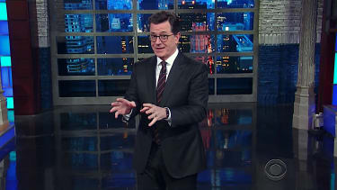 Stephen Colbert tackles Mike Pence and women