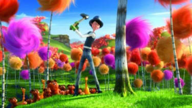 """The anti-industrialist message in """"The Lorax"""" has critics on the Right calling it liberal propaganda for kids."""