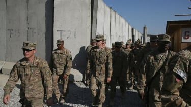 U.S. ceremonially ends combat mission in Afghanistan