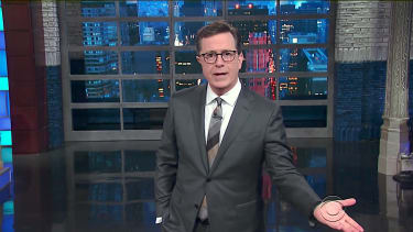 Stephen Colbert has some words for James Comey