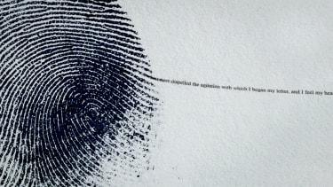 A thumbprint.