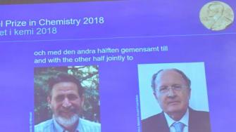 2018 Nobel Prize in Chemistry laureates