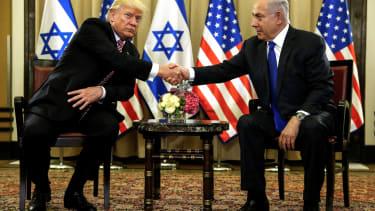 President Trump and Prime Minister Benjamin Netanyahu.
