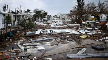 Aftermath of Hurricane Irma in Florida.