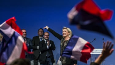 Marine Le Pen is leading a movement in France.