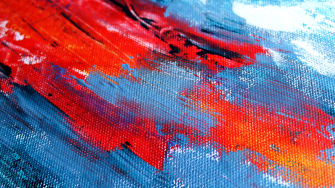 A detail of a painting.
