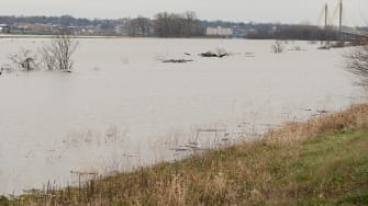 Flooding in the Midwest.