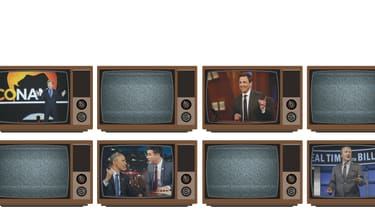There is a lack of conservative late-night TV shows.