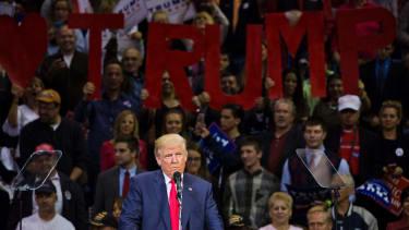 Donald Trump speaks in Pennsylvania