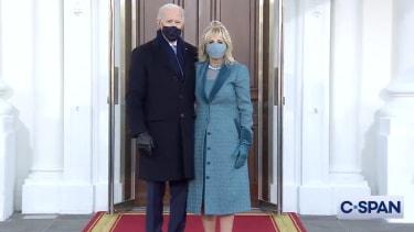 President Biden and first lady Jill Biden.