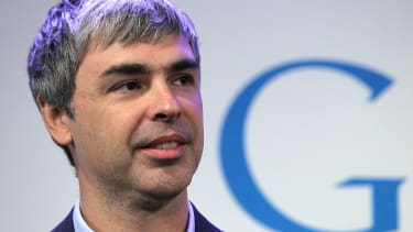 Larry Page at the Google offices