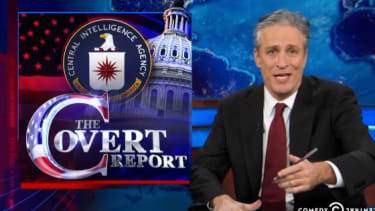 The Daily Show has exasperated fun with the Senate-CIA war