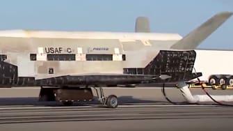 The Air Force X-37B spaceplane