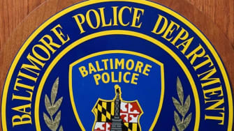 The Baltimore Police Department seal.
