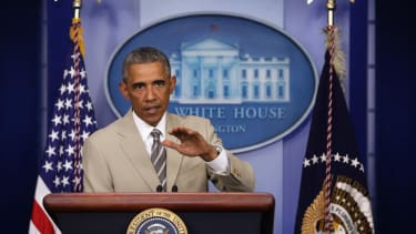 Obama: 'We don't have a strategy yet' on battling ISIS in Syria