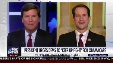 Tucker Carlson on Fox News.