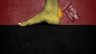 A foot.