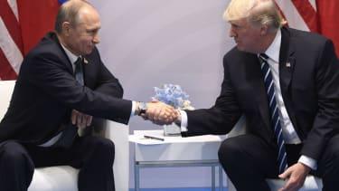 Trump and Putin meet in Hamburg