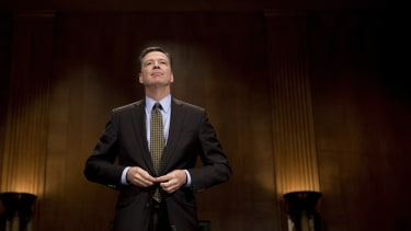James Comey on Capitol Hill