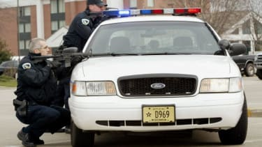 Police in Wisconsin.