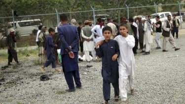 Aftermath of a June 3 attack in Kabul